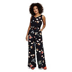 Phase Eight - Blue berdina floral jumpsuit
