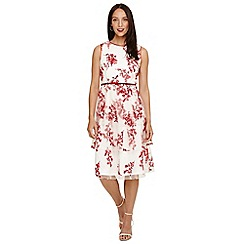 Phase Eight - Cream francine ditsy floral dress