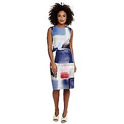 Phase Eight - Multicoloured morandi print dress