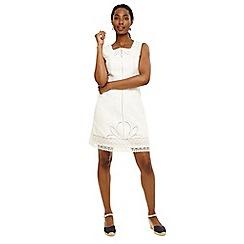 Phase Eight - White mona embroidered dress