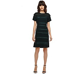 Phase Eight - Gigi green layered dress