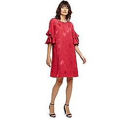 Phase Eight - Pink dena jacquard dress