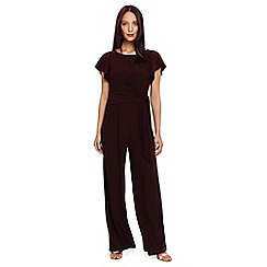 Phase Eight - Red ella tie side jumpsuit
