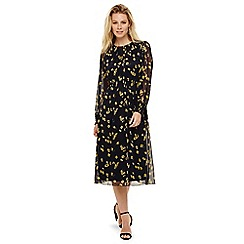 Phase Eight - Navy livi ditsy print dress