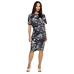 Phase Eight - Grey ravine tree print dress