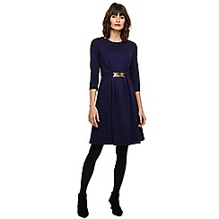 Phase Eight - Blue parisa ponte swing dress