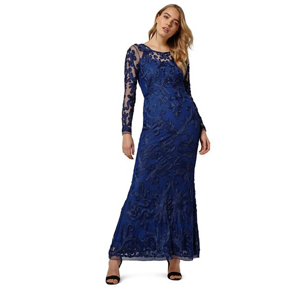 Phase aubree dress tapework Eight Blue rqPwr60n