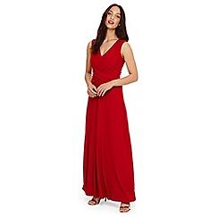 Phase Eight - Red Livi maxi bridesmaid dress