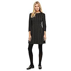 Phase Eight - Black callinda check dress