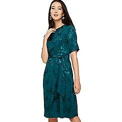 Phase Eight - Blue jaimee jaquard dress