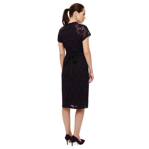 henrietta Purple lace Phase dress Eight OqgwwE