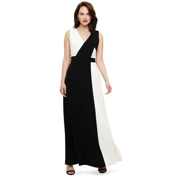 dionne dress contrast Phase Eight Black maxi 0xqnEvz