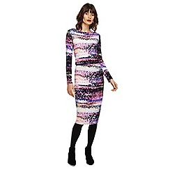 Phase Eight - Multi-coloured Hermione print dress