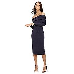 Phase Eight - Navy bayley bardot dress