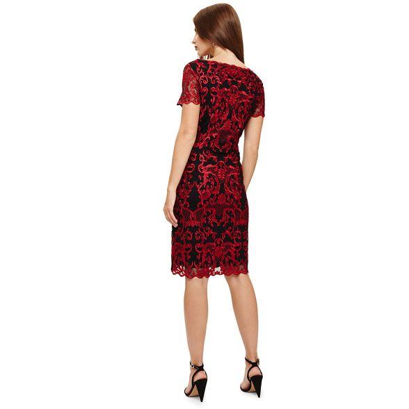 tatiana embroidered Scarlet Phase Eight Black and dress xwa0qHOz7