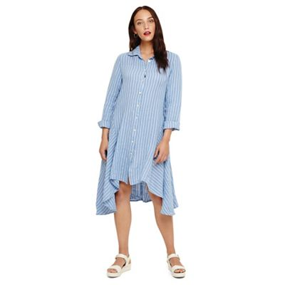 Phase Eight Blue Rosa Linen Dress Debenhams
