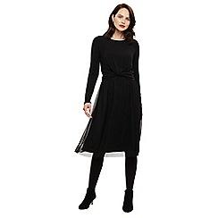 Phase Eight - Grey talie twist detail dress