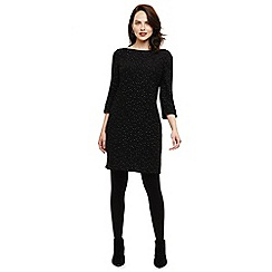 Phase Eight - Black freyda fleck tunic dress