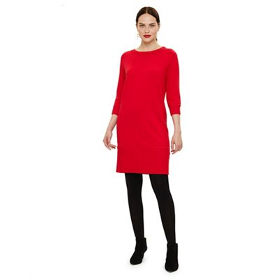 Phase Eight   Red Shiloh Exposed Seam Knit Dress by Phase Eight