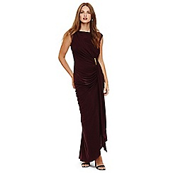 Phase Eight - Oxblood donna maxi dress
