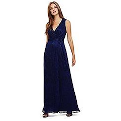 Phase Eight - Blue noelle wrap dress