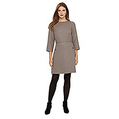 Phase Eight - Grey heritage check dress