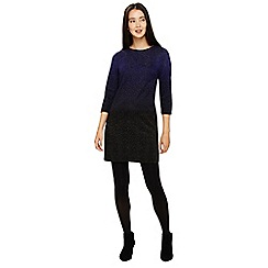 Phase Eight - Violet and black ophelia ombre tunic dress