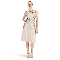 Phase Eight - Cream toria embellished tulle dress