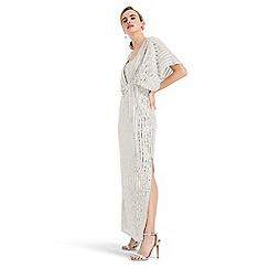 Phase Eight - Cream mariana sequin dress