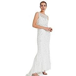 Phase Eight - White milly beaded wedding dress