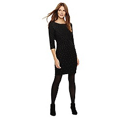 Phase Eight - Madisyn scattered sparkle knit dress