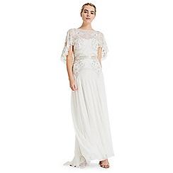 Phase Eight - White louise beaded bridal dress