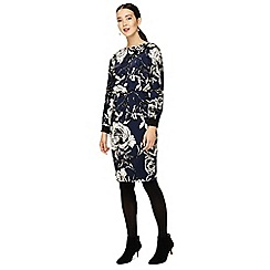 Phase Eight - Blue romy floral print dress