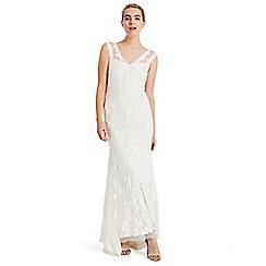 Phase Eight - White valerie tapework bridal dress