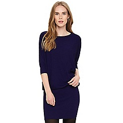 Phase Eight - Purple becca batwing knitted dress