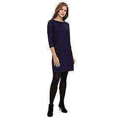 Phase Eight - Purple sherri shimmer knit tunic dress
