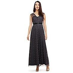 Phase Eight - Grey ashleen tulle maxi dress