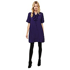 Phase Eight - Purple sarah frill dress