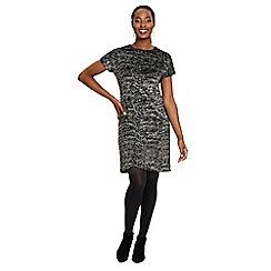 Phase Eight - Black addison sparkle tunic dress
