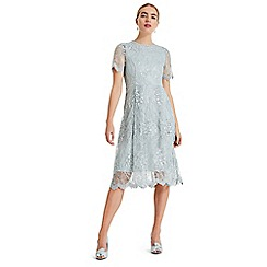 Phase Eight - Silver Malia sequin lace dress