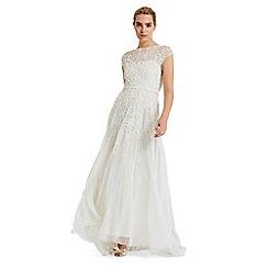 Phase Eight - White mylee embellished bridal dress