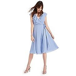Phase Eight - Blue Allegra wrap dress