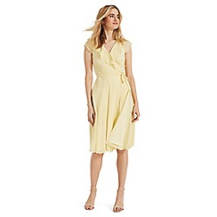 Phase Eight - Yellow Allegra wrap dress