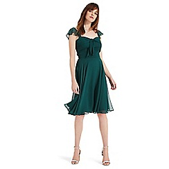Phase Eight - Green kendall georgette dress