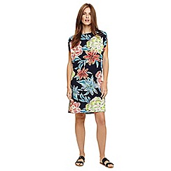 Phase Eight - Blue delany floral beach dress