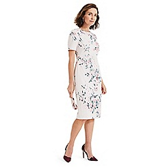 Phase Eight - Pink danni printed floral dress