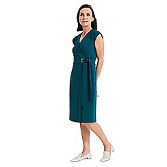 Phase Eight - Green Pippa wrap dress