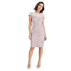 Phase Eight - Pink jana tapework dress