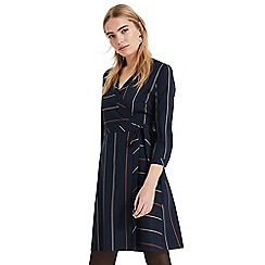 Phase Eight - Blue Vana stripe dress