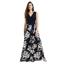 Phase Eight - Navy and oyster Madeline lace skirt maxi dress